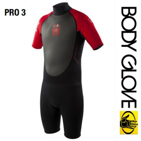 ГИДРОКОСТЮМ BODY GLOVE 2015 PRO3 2/1 SPRINGSUIT SHORTY RED